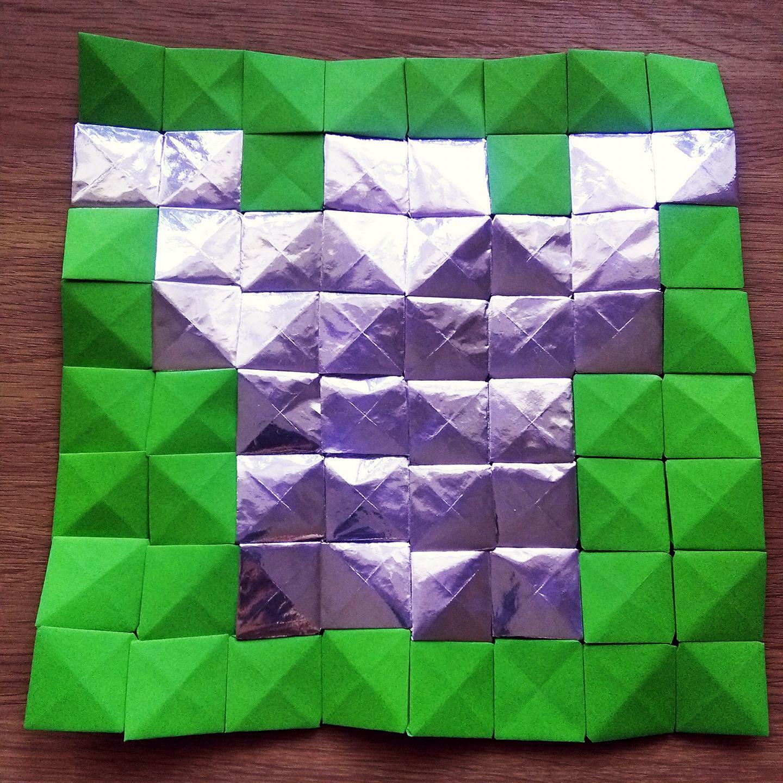 dublin castle origami mosaicmichaela bertsch